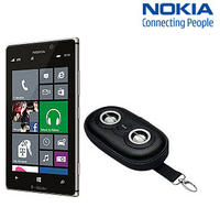 Nokia Lumia 925 T-Mobile 4G LTE No Contract Smart Phone with iLuv Portable Speaker Case