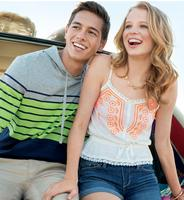 50% OFF + Extra $20 OFFwith $100 Purchase @ Aeropostale