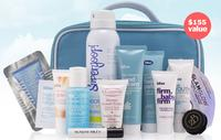Free beauty bagWith over $125 Purchase @ Bliss