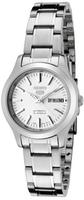 Seiko 5 Women's Automatic Silver Dial Stainless Steel Watch