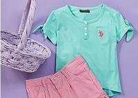 Up to 50% OFF  U.S. Polo Assn. Girls Apparel @ Zulily