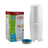 Diaper Genie Elite Advanced Diaper Disposal System with 270 ct Refill