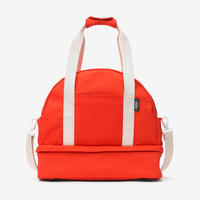 The Expandable Weekender Bag in Red @ Kate Spade Saturday