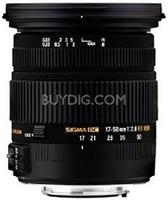 Sigma 17-50mm f/2.8 EX DC OS HSM FLD Standard Zoom Lens Canon and Nikon Mount