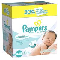 Pampers Sensitive Wipes - 448ct