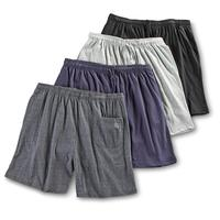 Men's Athletic Knit Shorts 4-Pack