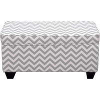 Carson Upholstered Storage Bench Ottoman