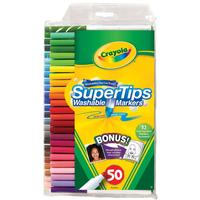 $5.57 Crayola 50ct Washable Super Tips with Silly Scents