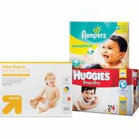 Free Up to $15 Gift Card when you buy (2 BOX) Selected Diapers @ Target