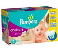Save $10 (In Store Only)all Pampers value boxes of diapers @ BabiesRUs