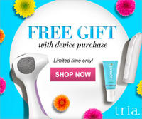 Free Skincare Giftwith Purchase of Any Tria Device @ TRIA Beauty