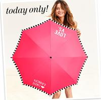 Free Victorias Secret Umbrellawith Any $75 Purchase @ Victorias Secret