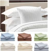 Hotel Life Deluxe 100% Cotton Sateen Deep Pocket 300 Thread Count Sheets