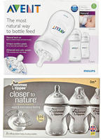 ALL Philips Avent Natural & Tommee Tippee Closer to Nature 3-pk. bottles@ BabiesRUs