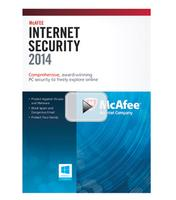 McAfee Internet Security 2014 3-User for Windows