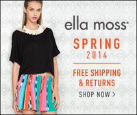 Free shipping & Free returnson all orders @ Elle Moss!