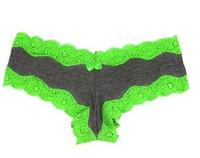 $8.50Body Central Contrast Lace Trim Cheeky Panties(4pc)