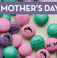 15% OFF $50+Personalize your Mother's Day treats @ My M&M's