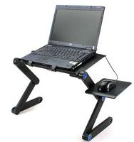 Folding Adjustable Vented Laptop Table Stand