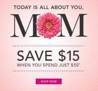 $15 off $50Mother's Day Sale @ DHC Skincare