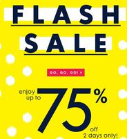 Up to 75% offFlash Sale @ C. Wonder