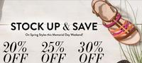Up to 30% offSitewide @ Rockport