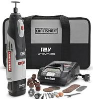 $45Craftsman Nextec Rotary Tool with LED Worklight 31224