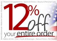 Extra 12% Sitewide@ VitaCost