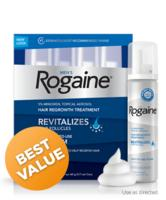 Men's Unscented ROGAINE® 4 month Auto Delivery@Rogaine