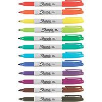 Sharpie Fine Point Permanent Markers, Dozen