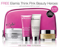 Free luxury Elemis gift($105 value) + Free Shippingwith purchase of $75 or more @ Time To Spa