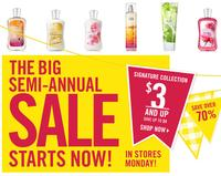Up to 75% offBath & Body Works Semi-Annual Sale, From $4