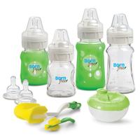 Born Free BPA-Free Premium Glass Bottles Gift Set