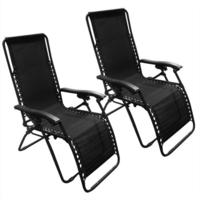 $69.99 2 Pack of Zero Gravity Outdoor Lounge Patio Chairs