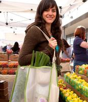Mercado Multi-compartment farmers market tote