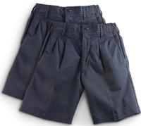 2-Pk. of Men's Reed Navy Pleated Shorts