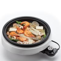 Aroma Housewares ASP-137 3-in-1 3-Quart Super Pot with Grill Plate