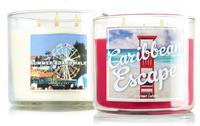 Today Only! All 3-Wick Candle $9+ $1 Shipping with $25 Purchase @ Bath & Body Works