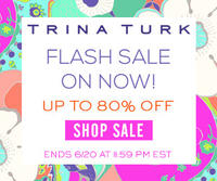 Up to 80% OFFTrina Turk Flash Sale + free shipping@Trina Turk