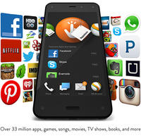 $189 Amazon Fire Phone 32GB Unlocked GSM + One Year of Prime Member