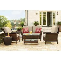 $799.99 Ty Pennington Style Parkside 4 Piece Deep Seating Set