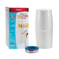 Playtex Diaper Genie Essentials Diaper Disposal System with 100 Count Refill