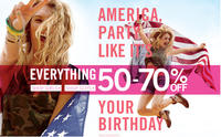 Up to 50% OffSitewide @ Aeropostale