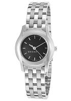 Gucci Black Dial Stainless Steel Watch @ The Watchery