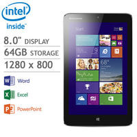 "$179 Lenovo Miix 2 64GB 8"" Windows 8.1 Tablet"