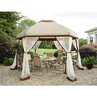 $329.99 Garden Oasis Long Beach 13' Hex Gazebo with Net