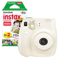 $40 Fujifilm instax mini 7S Instant Camera + Free 2-Pack instax mini Instant Color Film