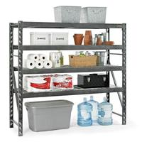 gladiator gars774szg 4shelf 77 in w x 73 in h x 24 in - Gladiator Shelving