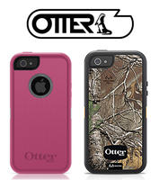 OtterBox Defender Series Case for iPhone 5 (Pink, RealTree Xtra Blazed Orange Camo)