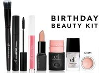 Free Birthday Beauty Kit!with orders $25+ @ e.l.f. Cosmetics